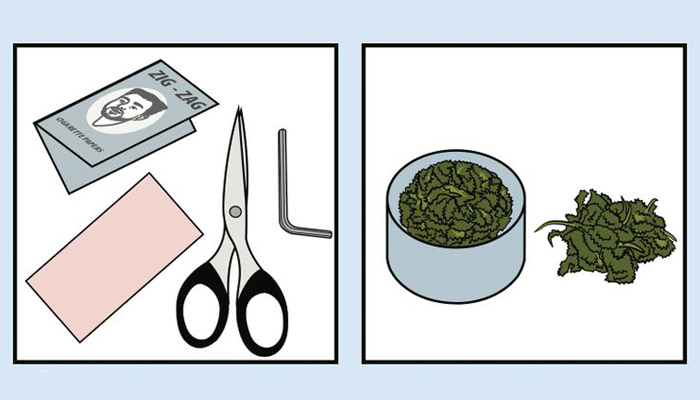 инструменты для скручивание косяка